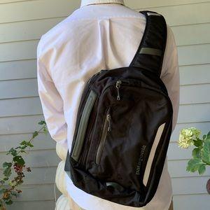Patagonia laptop sling.